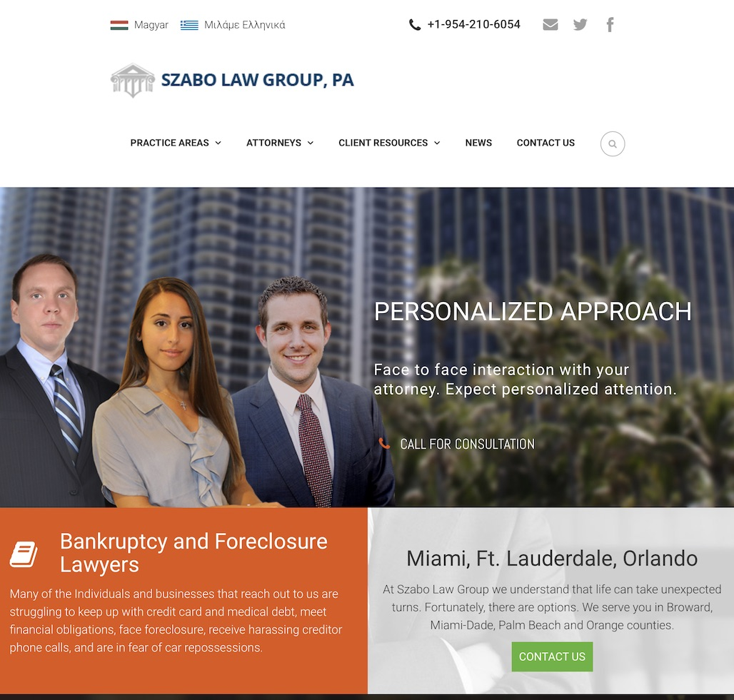 Bankruptcy and immigration attorneys in South Florida