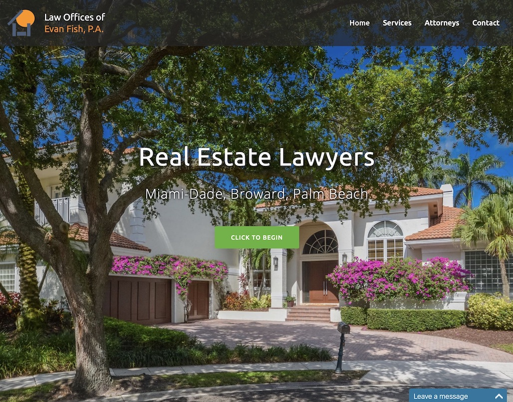 Evan Fish, P.A. Real Estate attorney in South Florida
